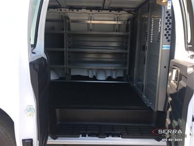 2019 Express 2500 4x2,  Adrian Steel Commercial Shelving Upfitted Cargo Van #C96125 - photo 23