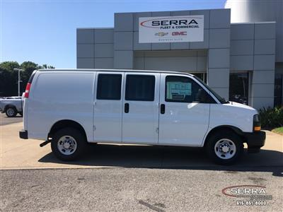 2019 Express 2500 4x2,  Adrian Steel Commercial Shelving Upfitted Cargo Van #C96125 - photo 9
