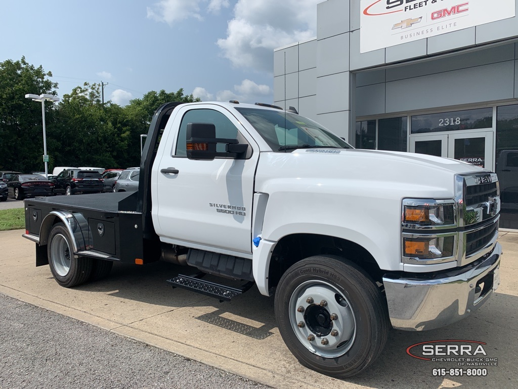 2019 Chevrolet Silverado 5500 Regular Cab DRW 4x2, CM Truck Beds SK Model Platform Body #C96333 - photo 1