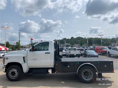 2019 Chevrolet Silverado 5500 Regular Cab DRW 4x2, CM Truck Beds SK Model Platform Body #C96333 - photo 9