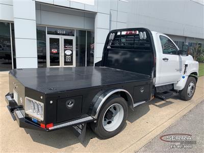 2019 Chevrolet Silverado 5500 Regular Cab DRW 4x2, CM Truck Beds SK Model Platform Body #C96333 - photo 2