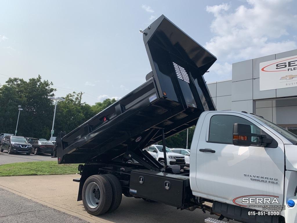 2019 Chevrolet Silverado 5500 Regular Cab DRW 4x4, Freedom LoadPro Dump Body #C96462 - photo 22