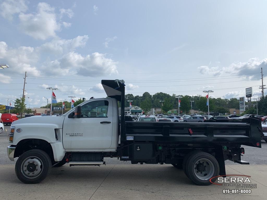 2019 Chevrolet Silverado 5500 Regular Cab DRW 4x4, Freedom LoadPro Dump Body #C96462 - photo 10
