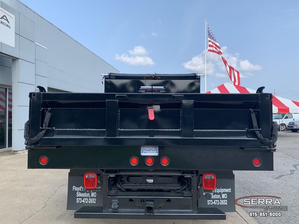 2019 Chevrolet Silverado 5500 Regular Cab DRW 4x4, Freedom LoadPro Dump Body #C96462 - photo 4
