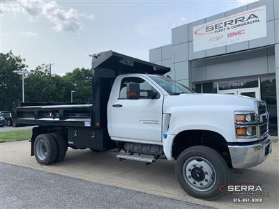 2019 Chevrolet Silverado 5500 Regular Cab DRW 4x4, Freedom LoadPro Dump Body #C96462 - photo 1