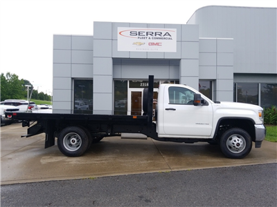 2017 Sierra 3500 Regular Cab DRW 4x4,  Knapheide Heavy-Hauler Junior Platform Body #C71957 - photo 8