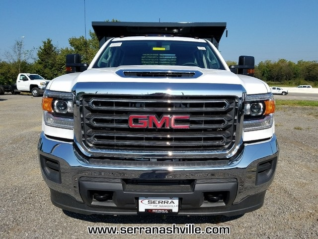 2017 Sierra 3500 Crew Cab DRW 4x4, Freedom Load-Pro Dump Body #C72705 - photo 3