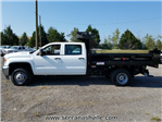 2017 Sierra 3500 Crew Cab DRW 4x4, Freedom Load-Pro Dump Body #C72705 - photo 2