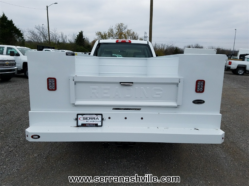 2017 Sierra 3500 Crew Cab DRW, Reading Classic II Steel Service Body #C72742 - photo 2