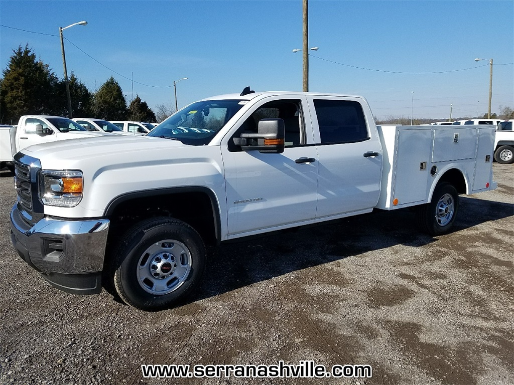 2018 Sierra 2500 Extended Cab 4x4, Service Body #C80745 - photo 3