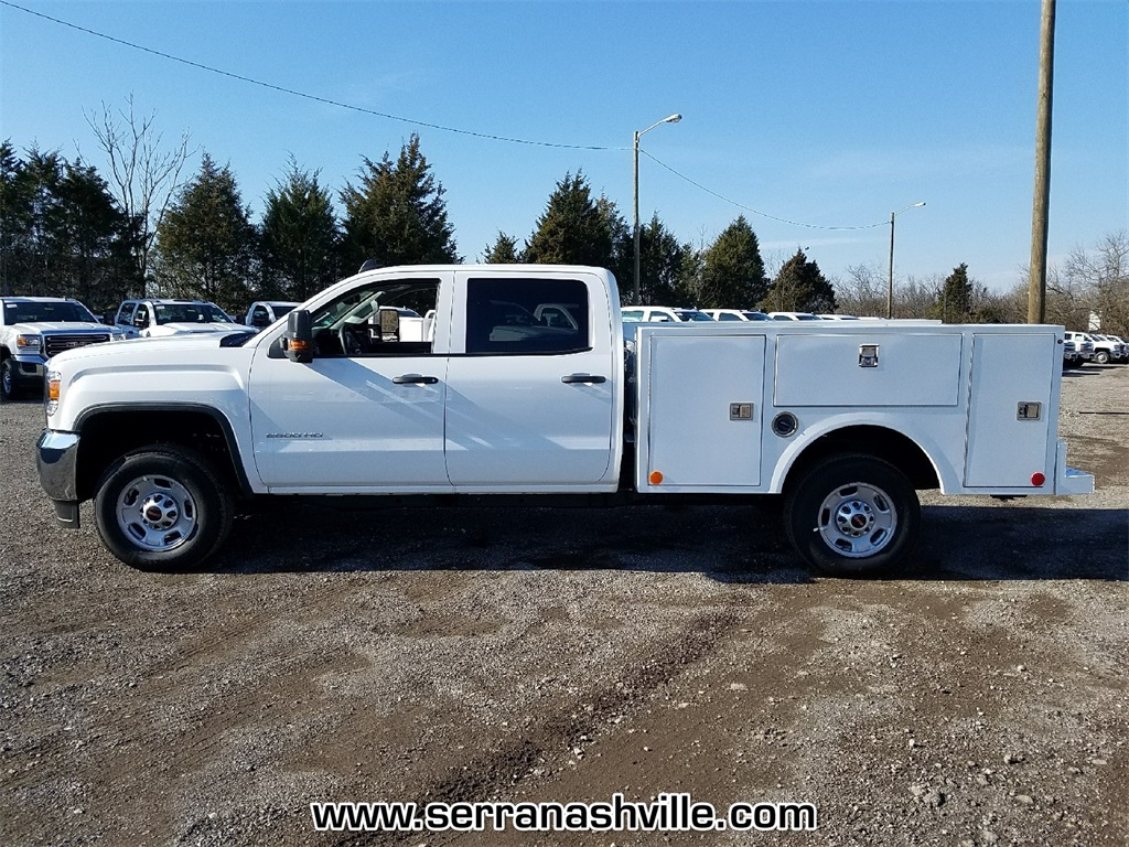 2018 Sierra 2500 Extended Cab 4x4 Service Body #C80745 - photo 2