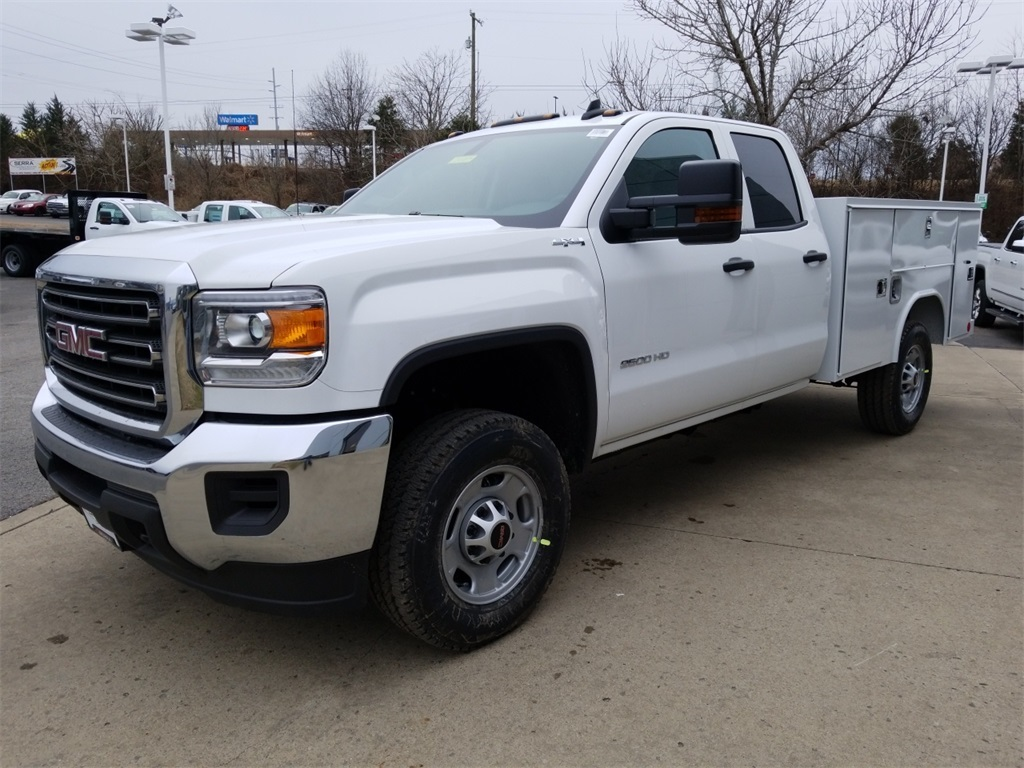 2018 Sierra 2500 Extended Cab 4x4, Reading Service Body #C80889 - photo 4