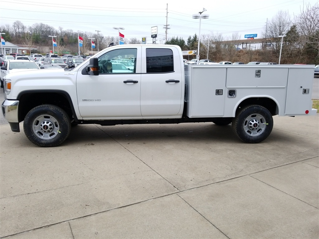 2018 Sierra 2500 Extended Cab 4x4, Reading Service Body #C80889 - photo 5