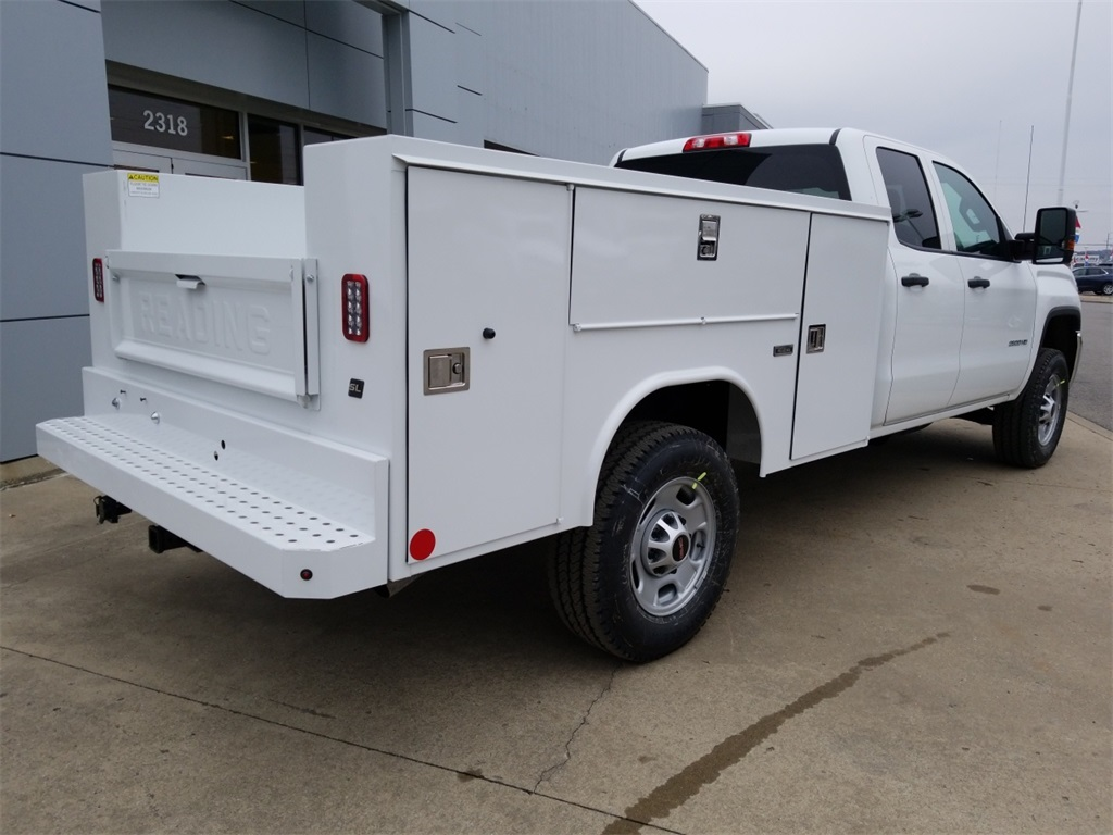 2018 Sierra 2500 Extended Cab 4x4, Reading Service Body #C80889 - photo 2