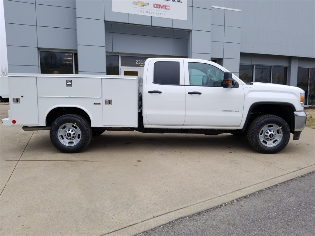 2018 Sierra 2500 Extended Cab 4x4, Reading Service Body #C80889 - photo 8