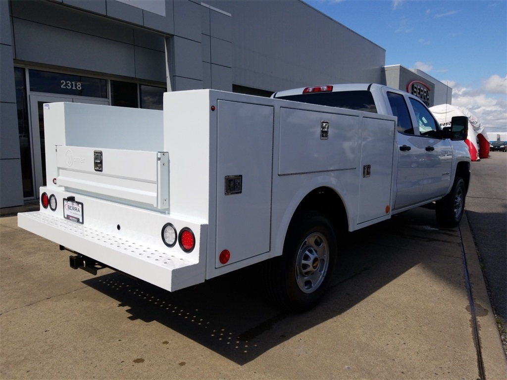 2018 Sierra 2500 Extended Cab 4x4,  Warner Service Body #C81686 - photo 2