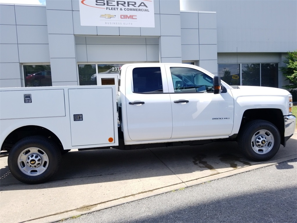 2018 Sierra 2500 Extended Cab 4x4,  Warner Service Body #C81686 - photo 8