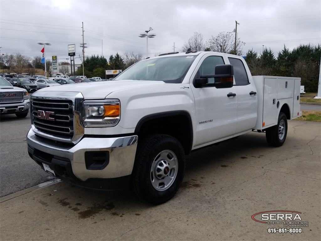 2018 Sierra 2500 Extended Cab 4x4,  Warner Service Body #C81686 - photo 4