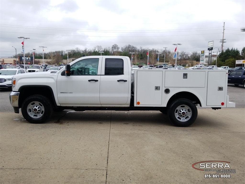 2018 Sierra 2500 Extended Cab 4x4,  Warner Service Body #C81686 - photo 5
