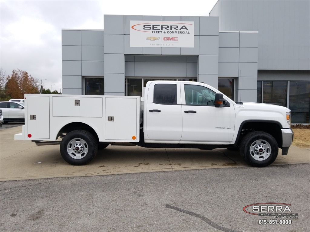 2018 Sierra 2500 Extended Cab 4x4,  Warner Select II Service Body #C81686 - photo 8