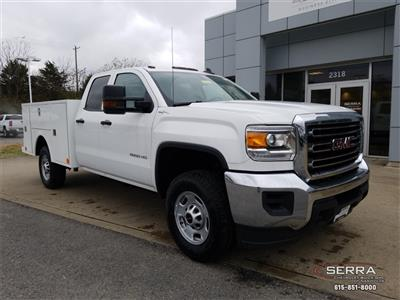 2018 Sierra 2500 Extended Cab 4x4,  Warner Select II Service Body #C81686 - photo 1
