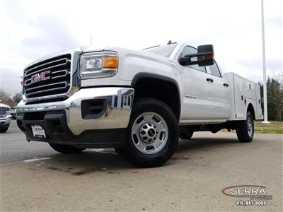 2018 Sierra 2500 Extended Cab 4x4,  Warner Select II Service Body #C81686 - photo 15