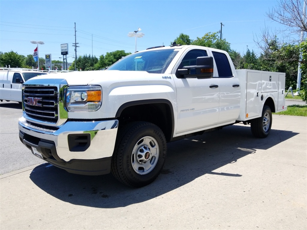 2018 Sierra 2500 Extended Cab 4x4,  Warner Select II Service Body #C81698 - photo 4