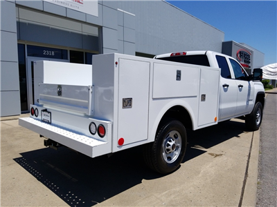 2018 Sierra 2500 Extended Cab 4x4,  Warner Select II Service Body #C81698 - photo 2
