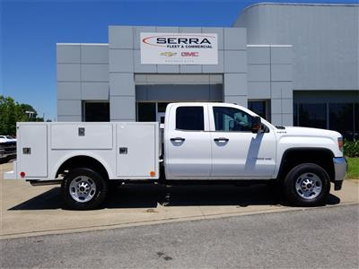 2018 Sierra 2500 Extended Cab 4x4,  Warner Select II Service Body #C81698 - photo 8