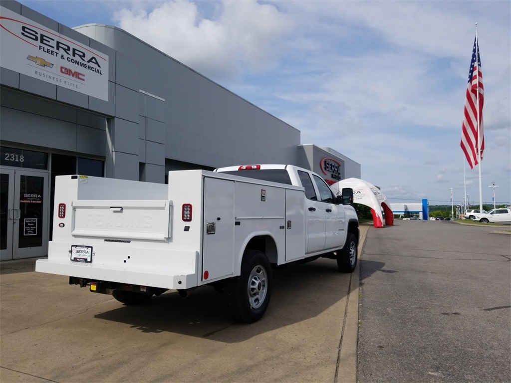 2018 Sierra 2500 Extended Cab 4x2,  Reading Service Body #C81710 - photo 10
