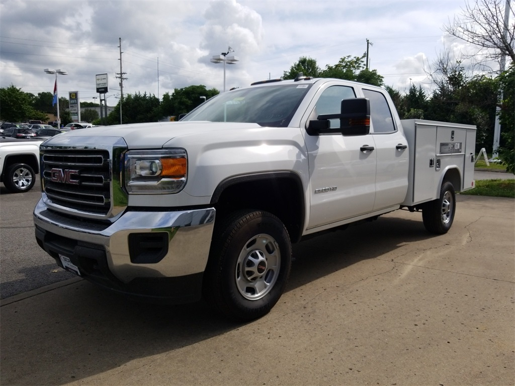 2018 Sierra 2500 Extended Cab 4x2,  Reading Service Body #C81710 - photo 4