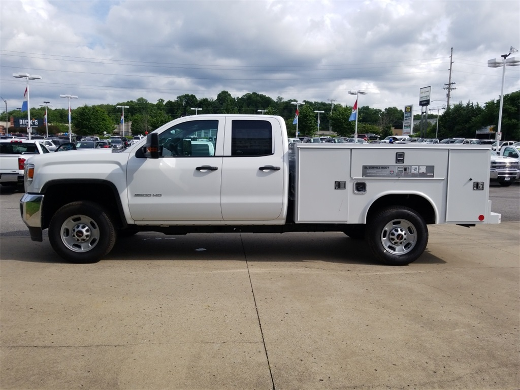 2018 Sierra 2500 Extended Cab 4x2,  Reading Service Body #C81710 - photo 5