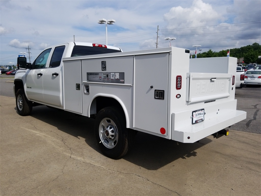 2018 Sierra 2500 Extended Cab 4x2,  Reading Service Body #C81710 - photo 6