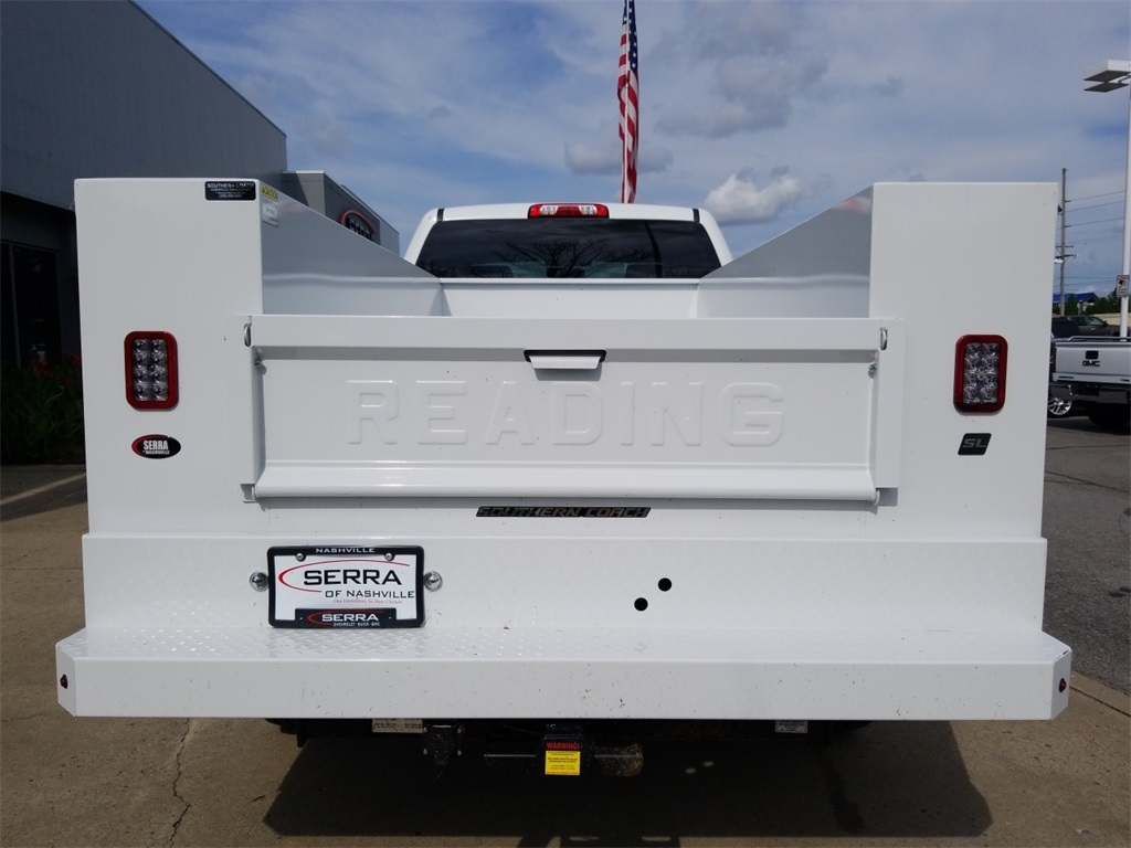 2018 Sierra 2500 Extended Cab 4x2,  Reading Service Body #C81710 - photo 7