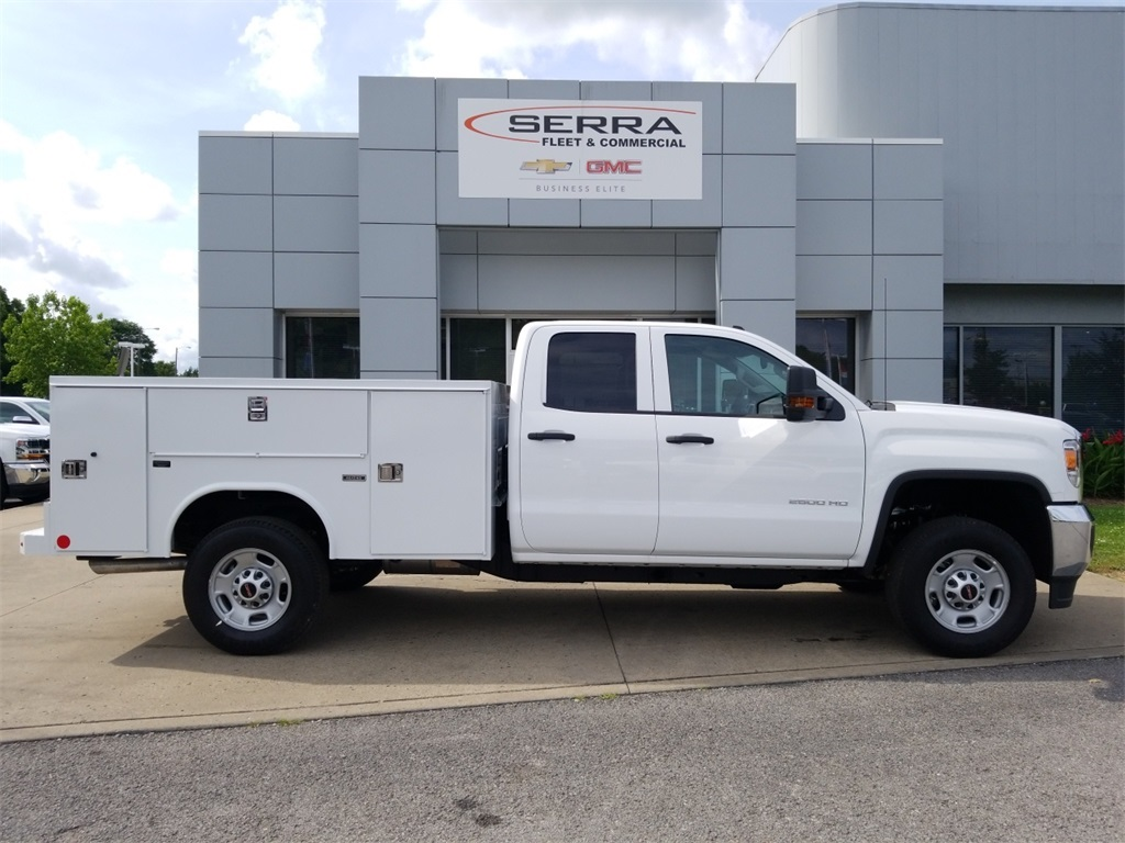 2018 Sierra 2500 Extended Cab 4x2,  Reading Service Body #C81710 - photo 8