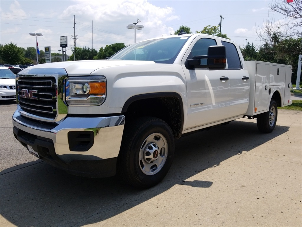 2018 Sierra 2500 Extended Cab 4x2,  Warner Service Body #C81860 - photo 4