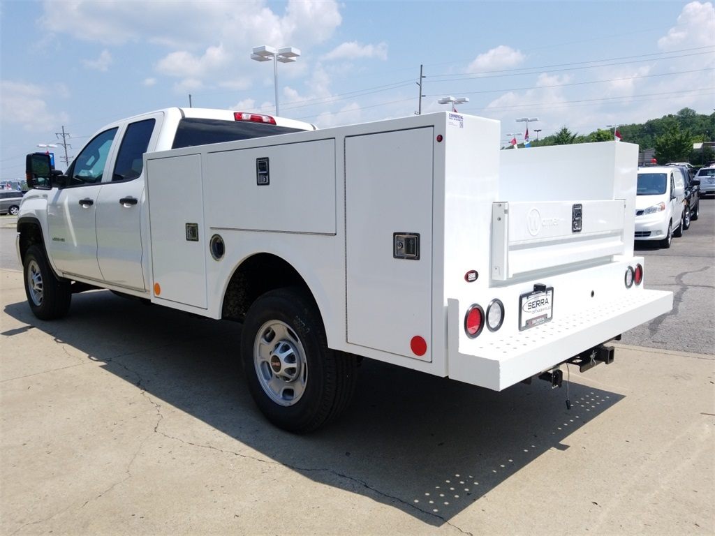 2018 Sierra 2500 Extended Cab 4x2,  Warner Service Body #C81860 - photo 6