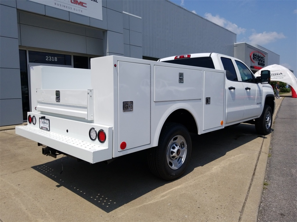 2018 Sierra 2500 Extended Cab 4x2,  Warner Service Body #C81860 - photo 2