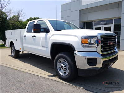 2018 Sierra 2500 Extended Cab 4x2,  Warner Select II Service Body #C81860 - photo 1
