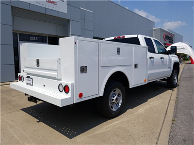 2018 Sierra 2500 Extended Cab 4x2,  Warner Select II Service Body #C81860 - photo 2