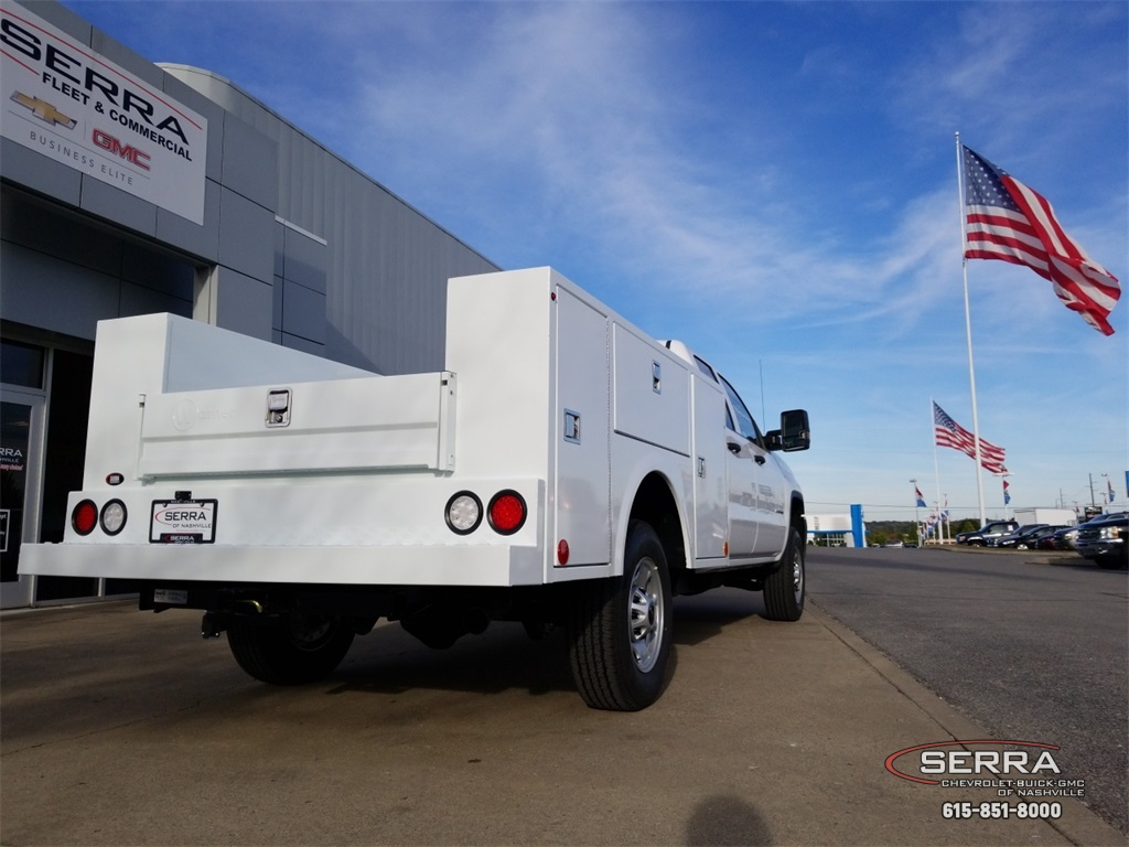 2019 Sierra 2500 Extended Cab 4x2,  Warner Service Body #C92450 - photo 10