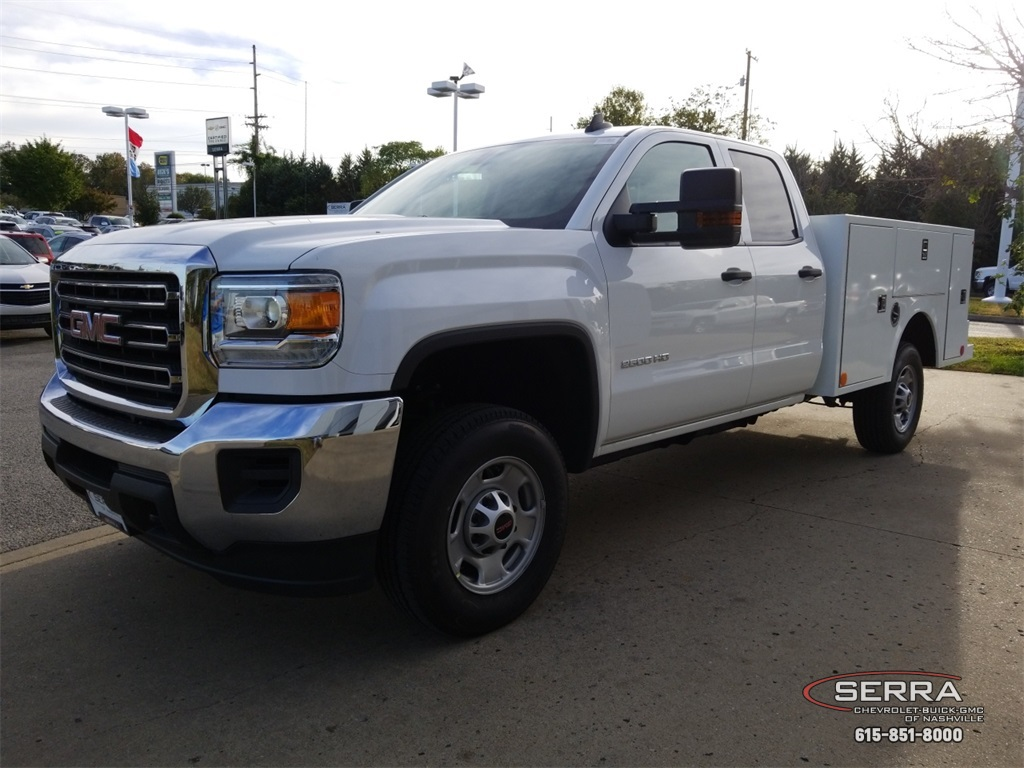 2019 Sierra 2500 Extended Cab 4x2,  Warner Service Body #C92450 - photo 4