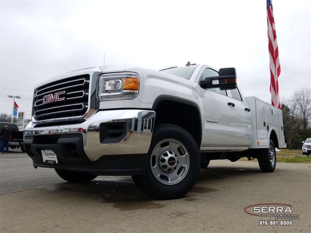 2019 Sierra 2500 Extended Cab 4x2,  Warner Service Body #C92485 - photo 16