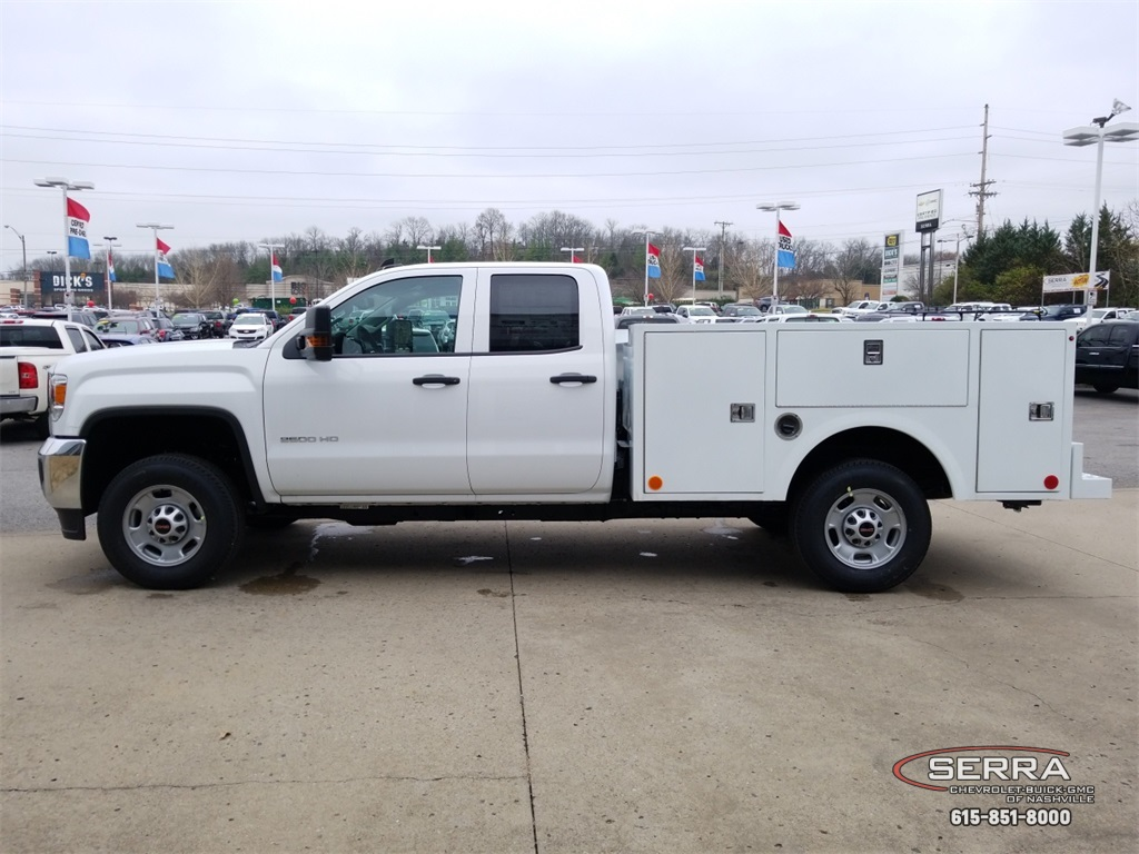 2019 Sierra 2500 Extended Cab 4x2,  Warner Service Body #C92485 - photo 5
