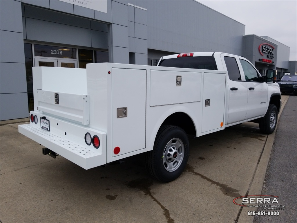 2019 Sierra 2500 Extended Cab 4x2,  Warner Service Body #C92485 - photo 2