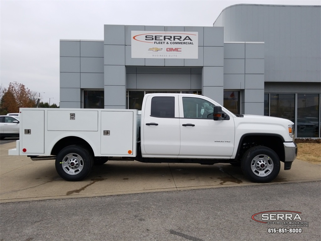 2019 Sierra 2500 Extended Cab 4x2,  Warner Service Body #C92485 - photo 8
