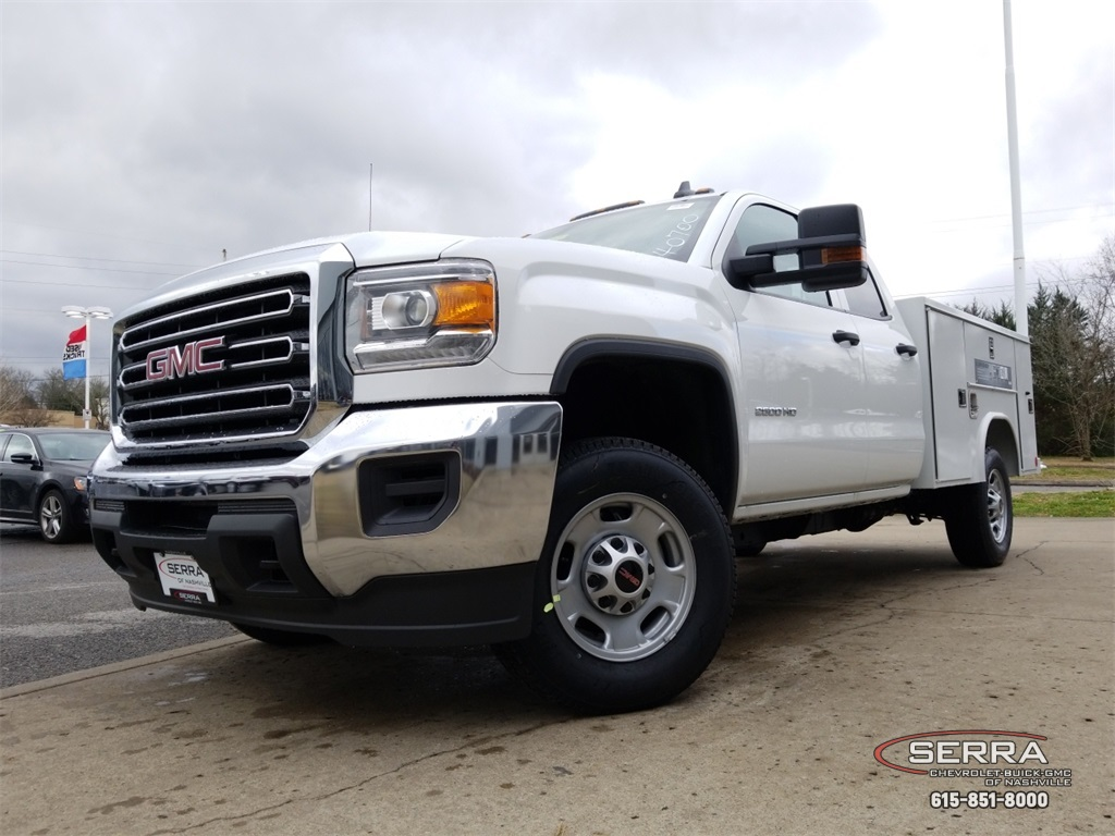 2019 Sierra 2500 Extended Cab 4x2,  Reading SL Service Body #C92495 - photo 16