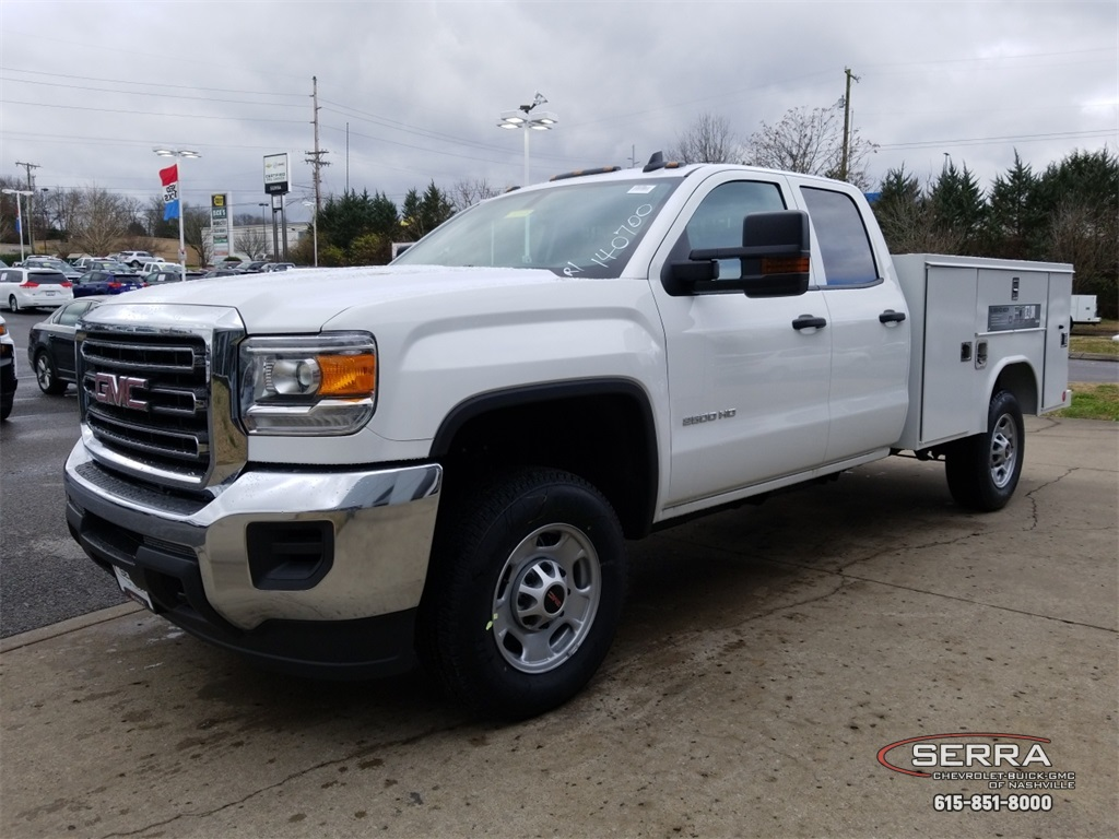 2019 Sierra 2500 Extended Cab 4x2,  Reading SL Service Body #C92495 - photo 4