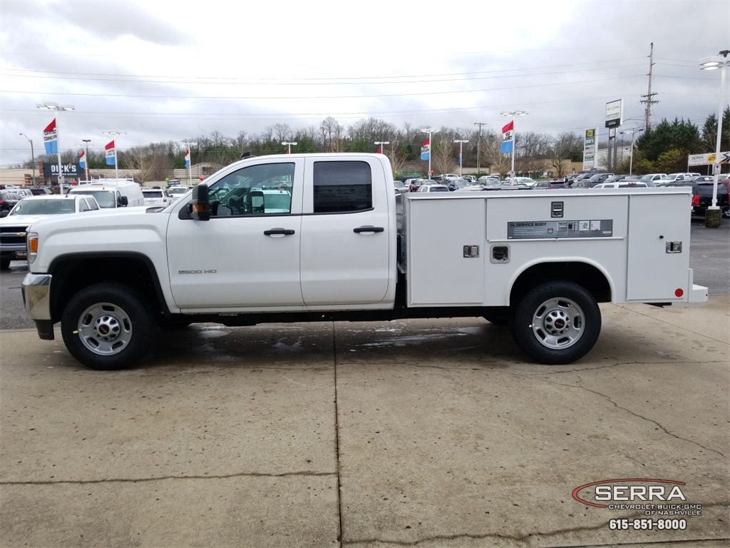 2019 Sierra 2500 Extended Cab 4x2,  Reading SL Service Body #C92495 - photo 5