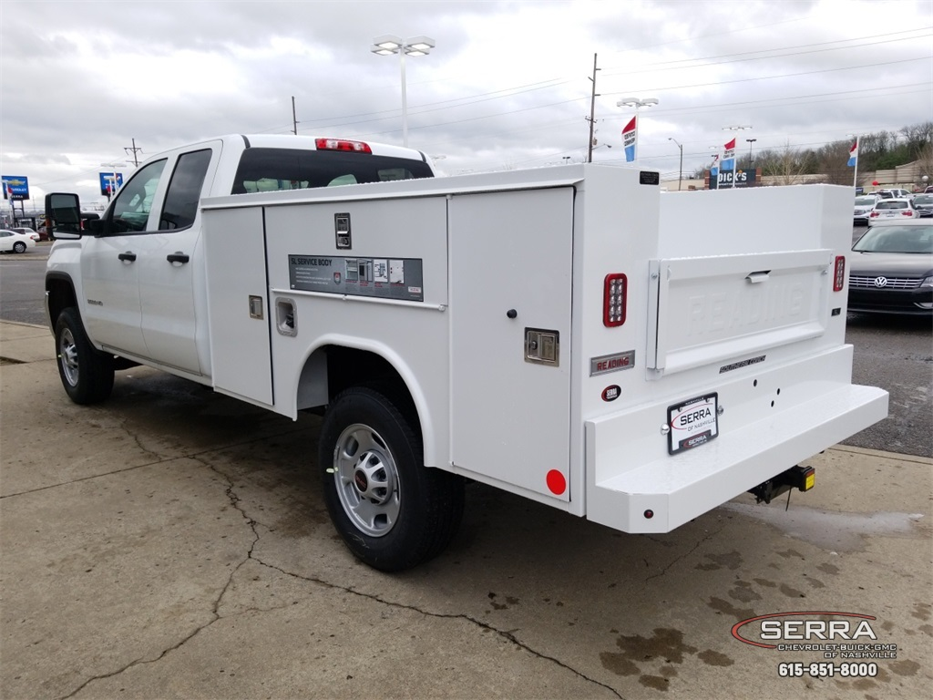 2019 Sierra 2500 Extended Cab 4x2,  Reading Service Body #C92495 - photo 6
